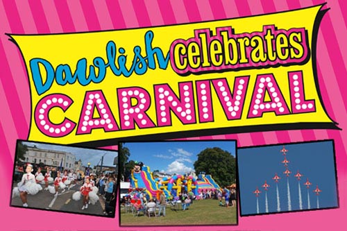 Circus Activities at Dawlish carnival